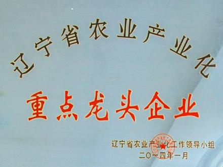 辽宁省农业产业化重点龙头企业