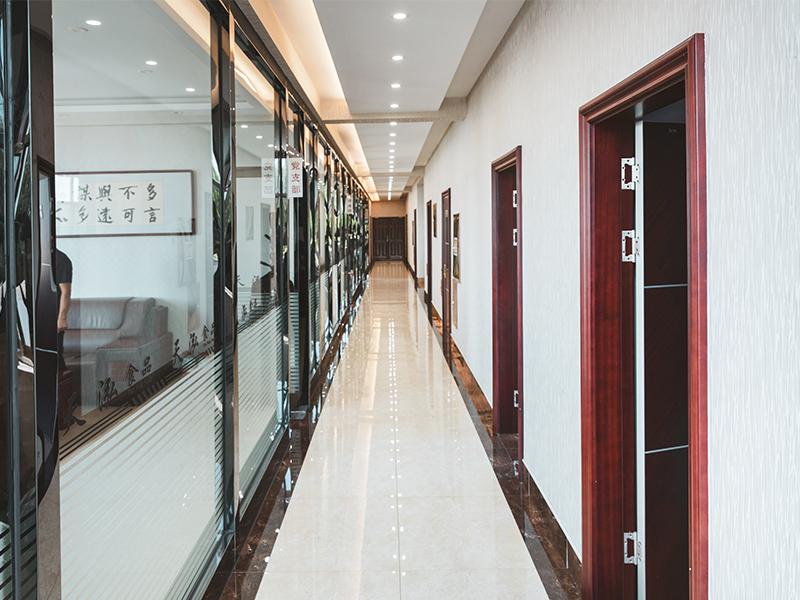 办公大楼走廊
